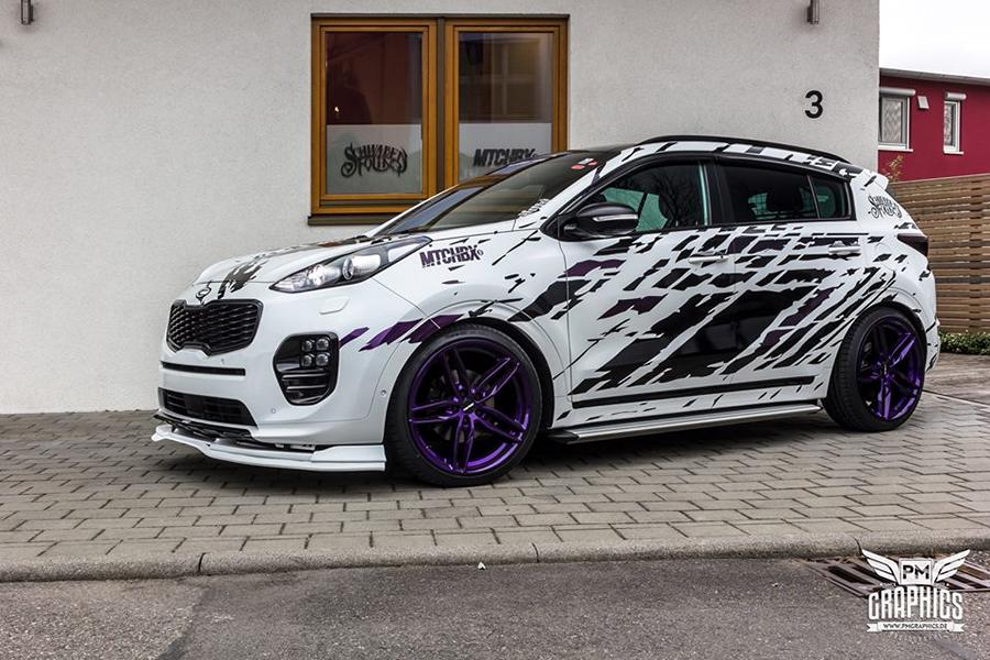 Kia Sportage Mtchbx Schwabenfolia 160587 together with Five Different Modified Versions Of The Nissan Gt R further Jms Audi A4 Tuning 2 as well Ford Grand Tourneo Connect Brand New Conversion Kit From B Style likewise F104t en. on exhaust kit