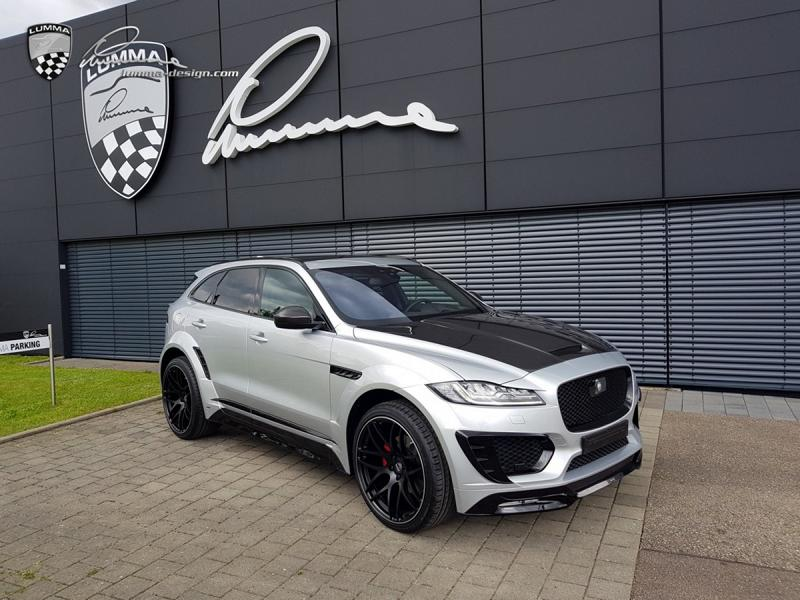lumma jaguar f pace tuning bodykit 4. Black Bedroom Furniture Sets. Home Design Ideas