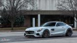 Mercedes Benz AMG GTS PD800GT ADV10.0 Tuning Widebody Renntech Weistec 30 155x87 Mercedes Benz AMG GTS Ghost by Auto Art aus Illionois