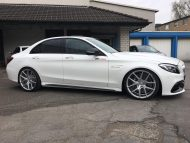 Ml Concept Mercedes C63 Amg On 20 Inch Zp09 Rims