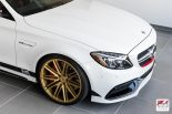 Mercedes W205 AMG C63 S Edition 1 Tunig 11 155x103 AWE Tuning   Project Mercedes W205 AMG C63 S Edition 1