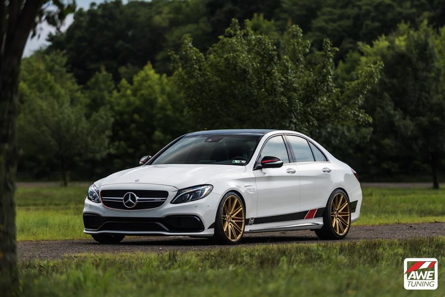 Mercedes W205 AMG C63 S Edition 1 Tunig 2 AWE Tuning   Project Mercedes W205 AMG C63 S Edition 1