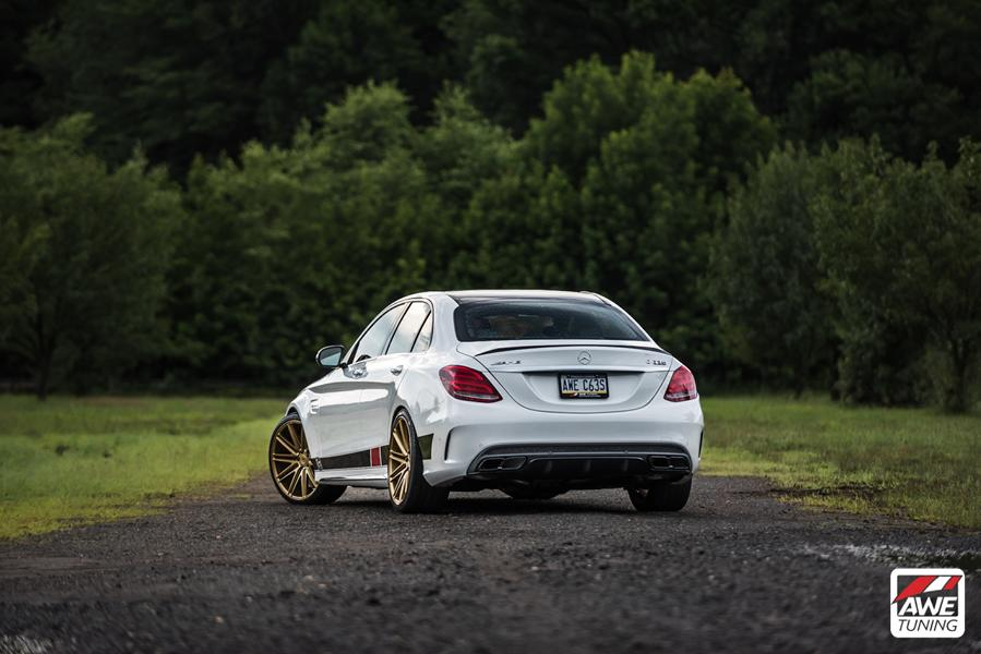 Mercedes W205 AMG C63 S Edition 1 Tunig 5 AWE Tuning   Project Mercedes W205 AMG C63 S Edition 1