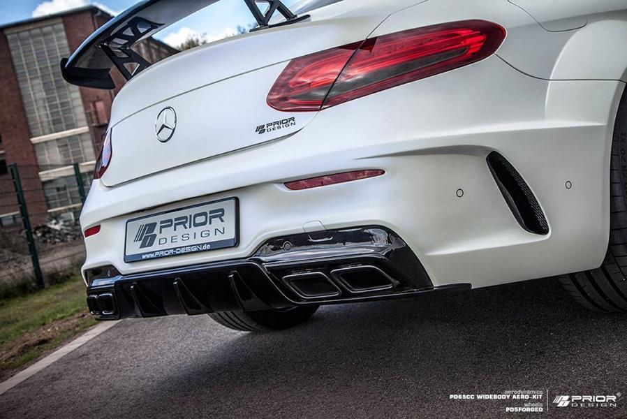 PD65CC Widebody Aerodynamik-Kit Mercedes C205 Coupe PD5 Tuning (3)