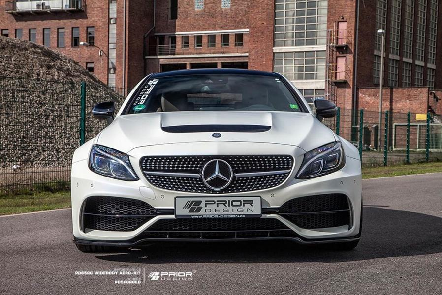 PD65CC Widebody Aerodynamik-Kit Mercedes C205 Coupe PD5 Tuning (5)