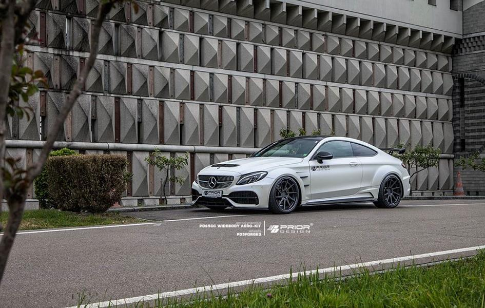 PD65CC Widebody Aerodynamik-Kit Mercedes C205 Coupe PD5 Tuning (9)