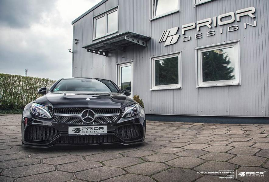 PD65CC Widebody Aerodynamik Kit Mercedes C205 Coupe Tuning 2017 Prior Design 10 PD65CC Widebody Aerodynamik Kit am Mercedes C205 Coupe