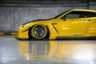Rocket Bunny Nissan GT R ADV.1 Wheels Tuning 7 190x126 Rocket Bunny Widebody Kit am Nissan GT R auf ADV.1 Wheels