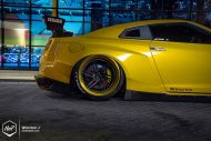 Rocket Bunny Nissan GT R ADV.1 Wheels Tuning 8 190x127 Rocket Bunny Widebody Kit am Nissan GT R auf ADV.1 Wheels