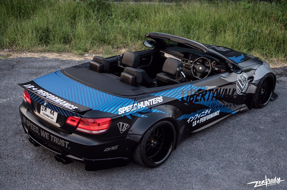 Tuning Widebody Liberty Walk BMW E93 M3 Cabrio 1 Mehr geht nicht   Widebody Liberty Walk BMW E93 M3