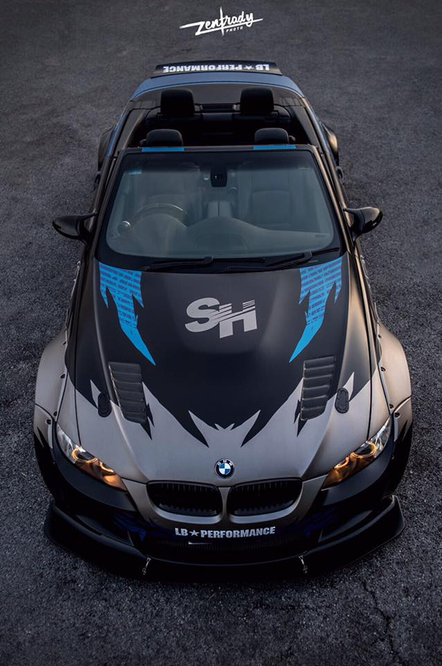 Tuning Widebody Liberty Walk BMW E93 M3 Cabrio 2 Mehr geht nicht   Widebody Liberty Walk BMW E93 M3