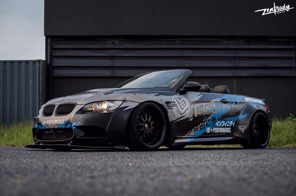 Tuning Widebody Liberty Walk BMW E93 M3 Cabrio 4 Mehr geht nicht   Widebody Liberty Walk BMW E93 M3