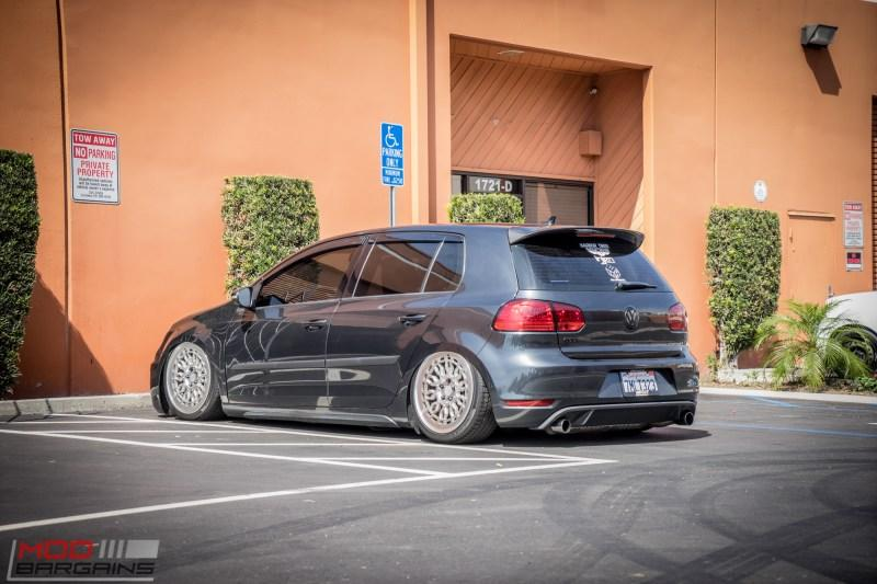 Elegant Style  VW Golf MK6 on RADI8 Rims  Airride  tuningblog