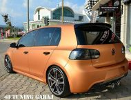 VW Golf Mk6 R Orange Matt Tieferlegung Tuning 1 190x146 Leserauto   VW Golf Mk6 R in Orange Matt & Tieferlegung