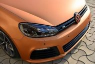VW Golf Mk6 R Orange Matt Tieferlegung Tuning 2 190x127 Leserauto   VW Golf Mk6 R in Orange Matt & Tieferlegung