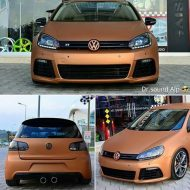 VW Golf Mk6 R Orange Matt Tieferlegung Tuning 7 190x190 Leserauto   VW Golf Mk6 R in Orange Matt & Tieferlegung
