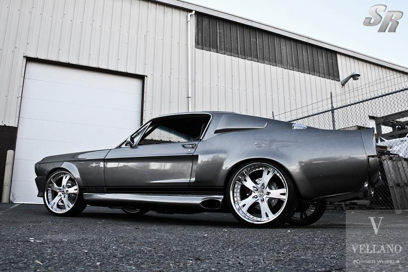 Vellano Forged Ford Mustang Shelby GT500 Tuning 3 Vellano Forged Wheels on the legendary Ford Mustang Shelby GT500