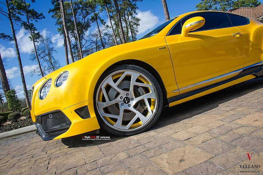 Vellano Forged Wheels VJK Bentley Continental GT Coupe Tuning 7 Vellano Forged Wheels VJK am Bentley Continental GT Coupe