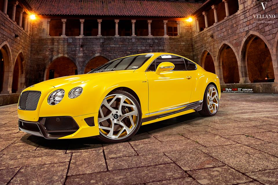 Vellano Forged Wheels VJK Bentley Continental GT Coupe Tuning 8 Vellano Forged Wheels VJK am Bentley Continental GT Coupe