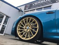Versus Competition Felgen BMW M2 F87 Coupe Chiptuning 5 190x143 Mattgoldene Versus Competition Felgen am BMW M2 F87
