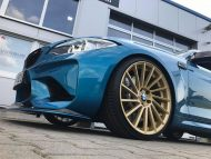 Versus Competition Felgen BMW M2 F87 Coupe Chiptuning 6 190x143 Mattgoldene Versus Competition Felgen am BMW M2 F87