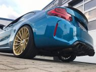 Versus Competition Felgen BMW M2 F87 Coupe Chiptuning 7 190x143 Mattgoldene Versus Competition Felgen am BMW M2 F87