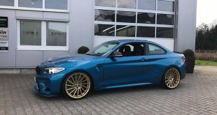 Versus Competition Felgen BMW M2 F87 Coupe Chiptuning 8 310x165 Mattgoldene Versus Competition Felgen am BMW M2 F87