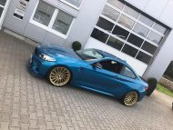 Versus Competition Felgen BMW M2 F87 Coupe Chiptuning 9 190x143 Mattgoldene Versus Competition Felgen am BMW M2 F87