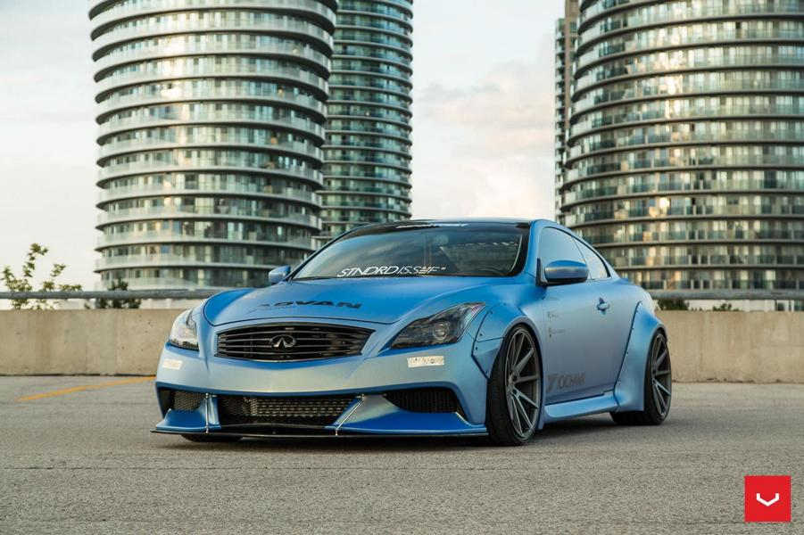 Vossen Wheels Widebody Kit Am Infiniti G37 Coupe Tuningblogeu