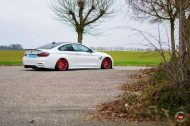 Vossen Wheels VPS 307T BMW M4 F82 Coupe Tuning 1 190x126 Vossen Wheels VPS 307T Alu's in rot am BMW M4 F82 Coupe