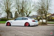 Vossen Wheels VPS 307T BMW M4 F82 Coupe Tuning 2 190x126 Vossen Wheels VPS 307T Alu's in rot am BMW M4 F82 Coupe