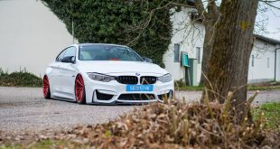 Vossen Wheels VPS 307T BMW M4 F82 Coupe Tuning 5 310x165 Vossen Wheels VPS 307T Alu's in rot am BMW M4 F82 Coupe