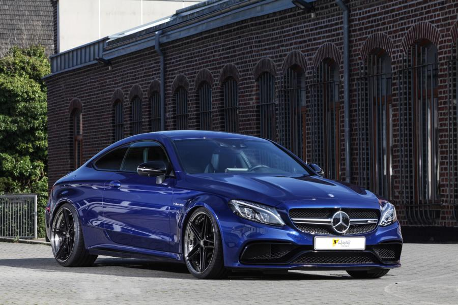 best cars bikes mercedes amg c205 c63 AMG Tuning 10 20 Zoll Schmidt FS Line Alu's & 580PS im Mercedes C63 AMG Coupe