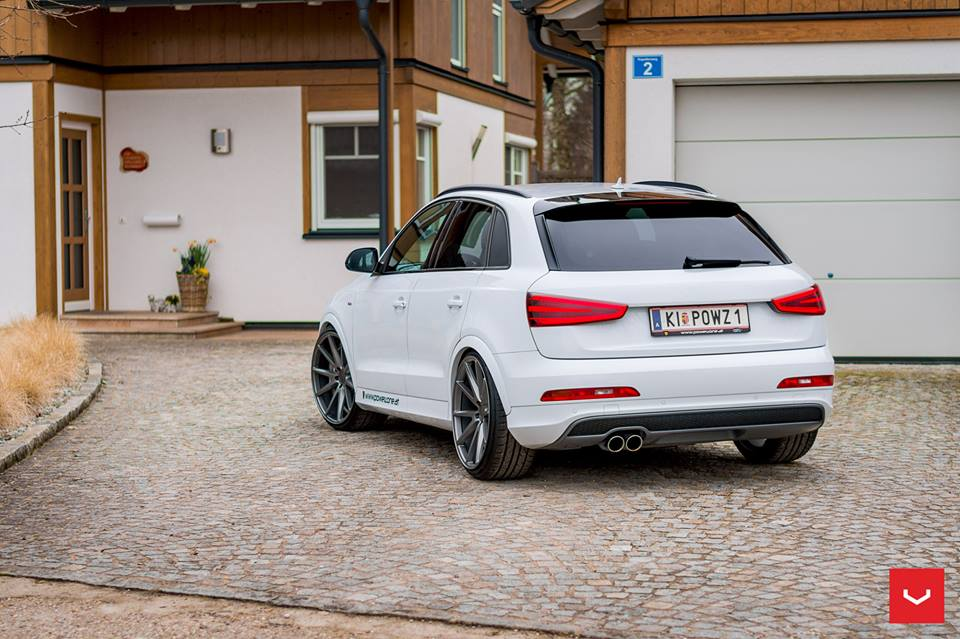 2017 audi q3 slammed vossen vfs 1 tuning 3 tuningblog. Black Bedroom Furniture Sets. Home Design Ideas