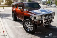22 Inch Vellano Forged Wheels VTR Tuning Hummer H3 2 190x127 22 Inch Vellano Forged Wheels VTR Alu's at Hummer H3