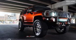 22 Zoll Vellano Forged Wheels VTR Tuning Hummer H3 4 310x165 Nummer 3! Mil Spec Automotive 6,6 Liter Hummer H1 V8