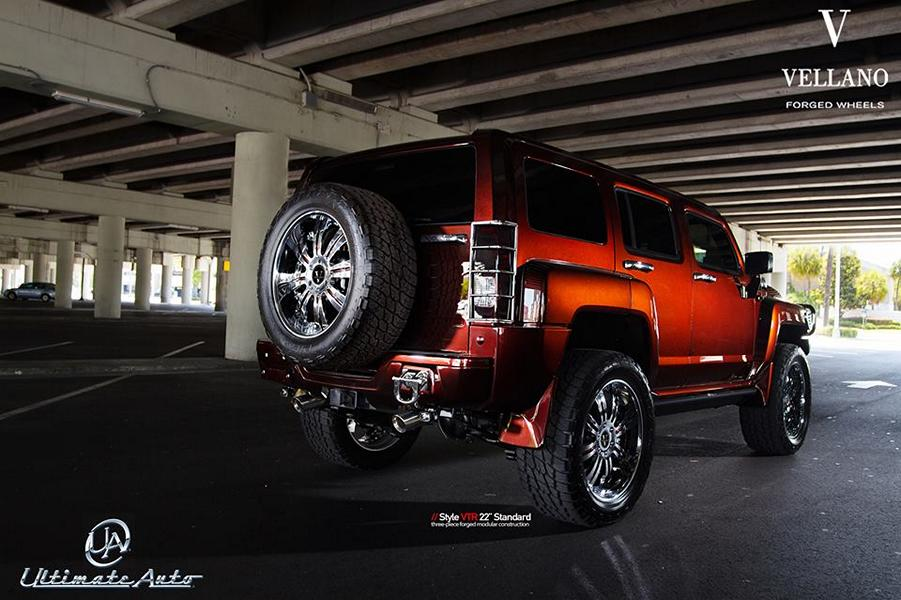 22 Inch Vellano Forged Wheels Vtr Aluminum S On Lobster H3