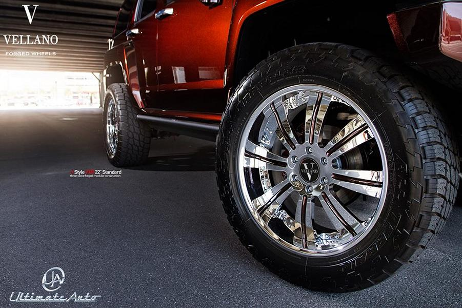 22 Inch Vellano Forged Wheels VTR Tuning Hummer H3 7 22 Inch Vellano Forged Wheels VTR Alu's at Hummer H3