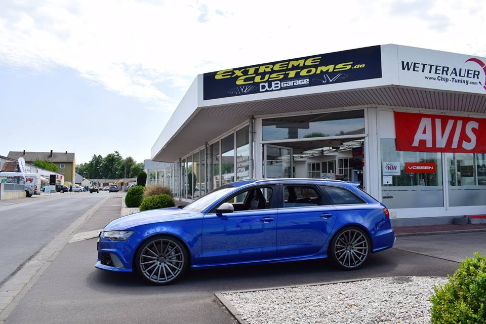 22 zoll vossen vfs 2 felgen audi a6 rs6 avant c7 1. Black Bedroom Furniture Sets. Home Design Ideas