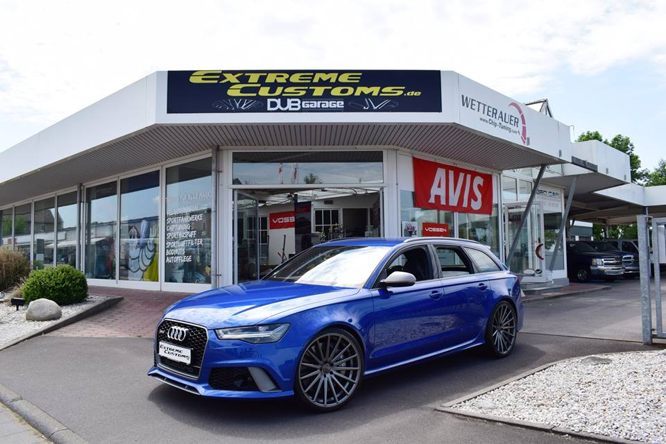 22 zoll vossen vfs 2 felgen audi a6 rs6 avant c7 3. Black Bedroom Furniture Sets. Home Design Ideas