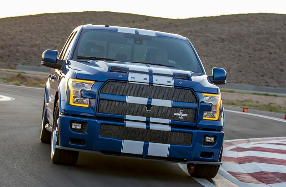 Shelby F150 Super Snake >> Heftig - 750PS Shelby Super Snake auf Basis des Ford F-150
