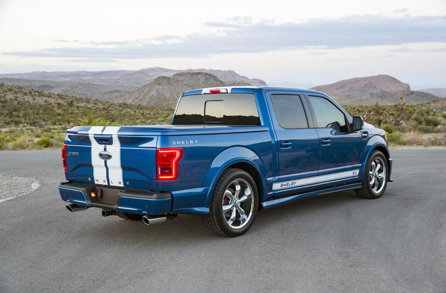 750PS Shelby Super Snake 2017 Ford F 150 Tuning 9 Heftig   750PS Shelby Super Snake auf Basis des Ford F 150