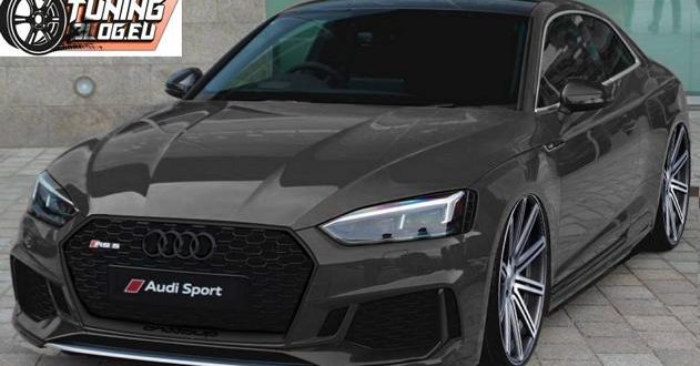black audi  rs coupe   tuningblogeu