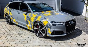 Audi A6 C7 Avant TWO TONE DESIGN Folierung MTCHBX 7 310x165 Mächtig fett Progressive SR Widebody Kit am Audi A6 C7