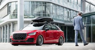Audi Q2 Vossen Forged ML R2 HR Tuning 106 310x165 Mega   Top Secret Tuning Audi Q2 mit Airride & LV2 Alus