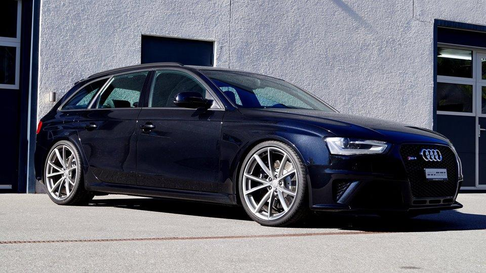 Subtly Deep Audi Rs4 B8 Avant From The Tuner Cartech Ch