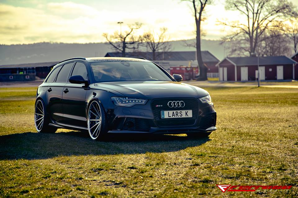 Perfect Audi Rs6 C7 Avant Ferrada Wheels Fr4 Alu S