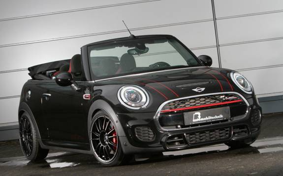 BB Mini Cabrio John Cooper Works JCW Tuning 2017 1 310PS & 465NM im B&B Mini Cabrio John Cooper Works JCW