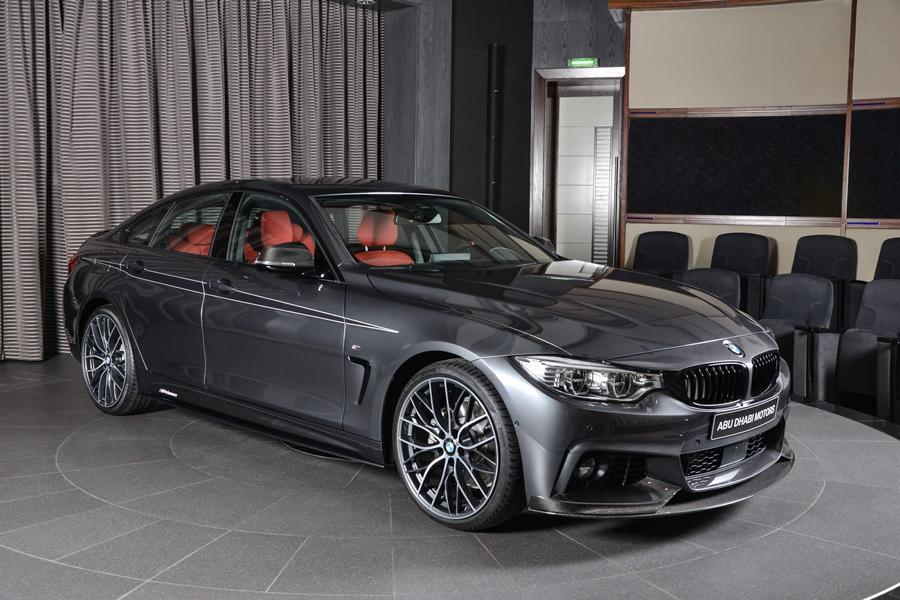 Schickes bmw 430i gran coupe mit m performance parts for Bmw 4er gran coupe m paket