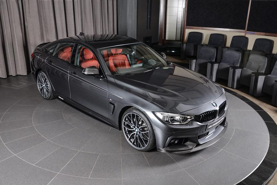BMW 430i Gran Coupe M Performance Parts Tuning 2017 26 Schickes BMW 430i Gran Coupe mit M Performance Parts